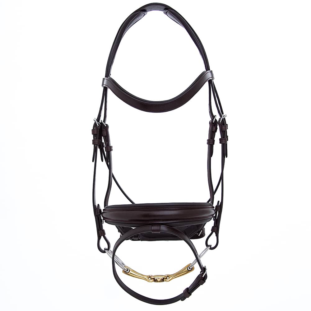 ALEQUI dressade bridle anatomical neckpiece black full