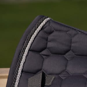 ALEQUI dressage saddle pad graphite grey