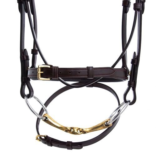 ALEQUI-jumping-bridle-brass-anatomical-neckpiece