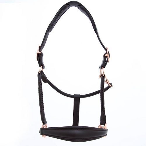 ALEQUI leather halter rose full
