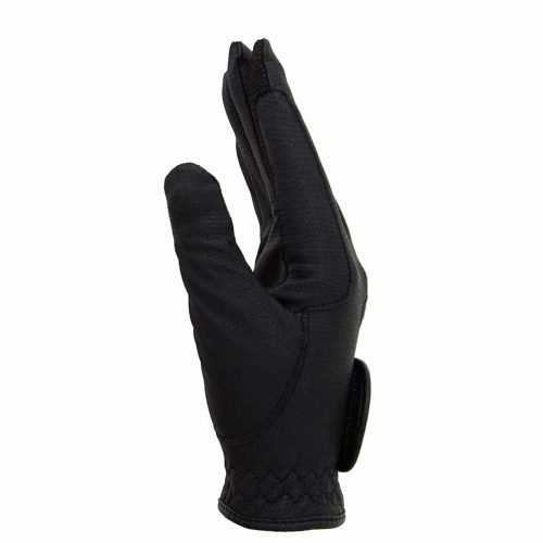 ALEQUI riding gloves black touch side full