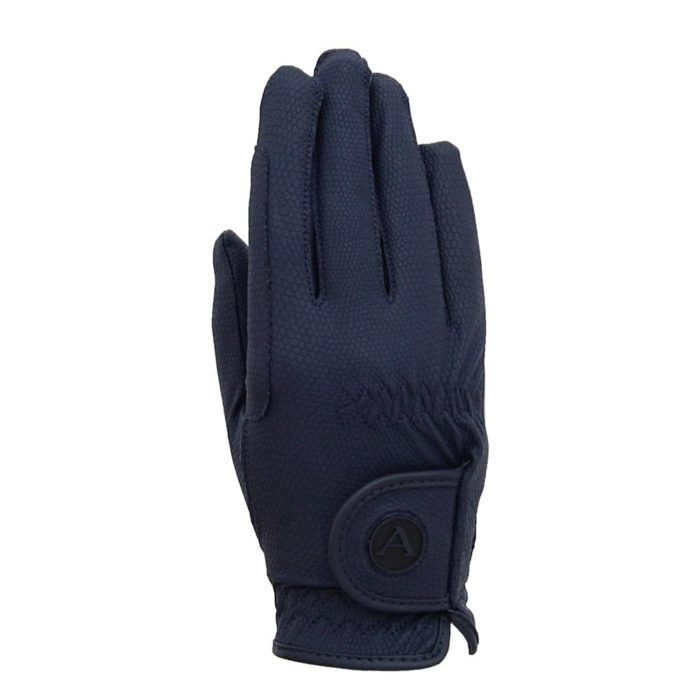 ALEQUI riding gloves blue back full