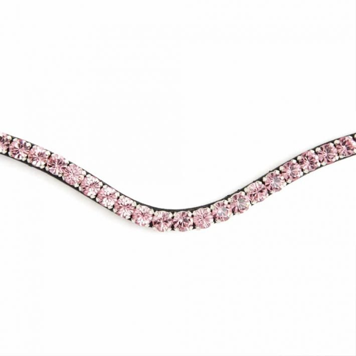 ALEQUI light rose browband closeup